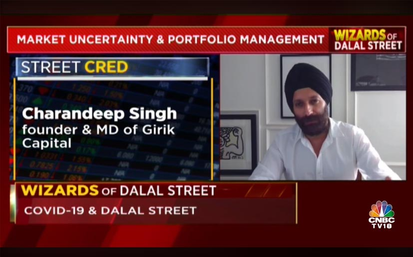 Interview with CNBC TV18 (1st May 2020)